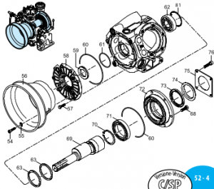 1400120 Кольцо резиновое d=145,72x2,62 AR-1203