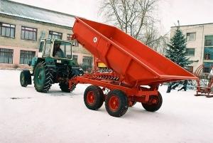 фото Полуприцеп герметичный тракторный ППГ-8