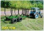 фото Полуприцеп лесовозный тракторный ПЛТ-11М