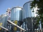 Зернохранилище c конусным днищем