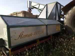 Комбайн-косилка для петрушки, укропа, салата и т.п. Алтай-1800К