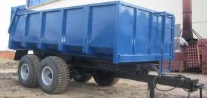 Полуприцеп тракторный самосвальный ПТСЕ-10. Фирма-производитель: Егорьевская сельхозтехника