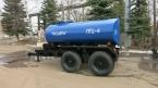 Полуприцеп-цистерна тракторная ПТСЕ-4 Калинка. Фирма-производитель:Егорьевская сельхозтехника