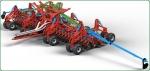 Стерневая зерновая сеялка ДОНЭЙР-НТ II для прямого сева (по технологии NO-TILL)