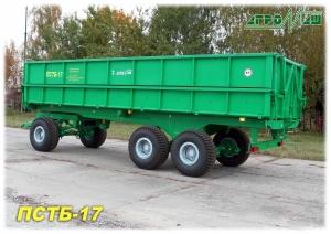 Прицеп тракторный ПСТБ-17