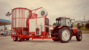 Мобильная зерносушилка OZSU TKM 33