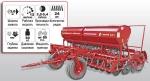 Сеялка зернотуковая ASTRA 3,6V