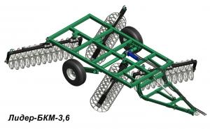 Бороны кольцевые модульные Лидер БКМ-3,6; БКМ-7,2; БКМ-10,8; БКМ-14,4