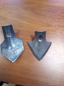 Лапа накладка гусиная европак, АКШ, КПШ, 105 мм