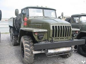 Топливозаправщик УРАЛ 4320