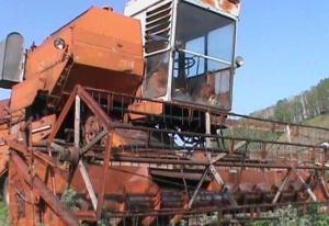 Зерноуборочный комбайн СКД - 5
