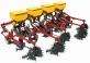 Культиватор-окучник навесной двухрядный КОН-1,4А туковый с роторами