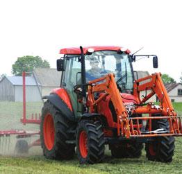 Трактор колесный KUBOTA М 6040