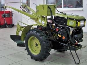 Мотоблок Аврора MT 81DE со стартером