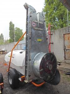 Опрыскиватель с шахтой вентиляторный ОПВ-2000 MaxiMarin для садов,виноградников