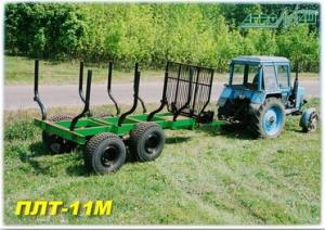 Прицеп лесовозный ПЛТ-11М