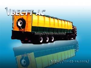 Трехосный полуприцеп-зерновоз 960060