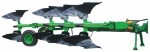 Плуг 4-х корпусной оборотный полунавесной ПОПГ- 4-40 с пневмогидрозащитой