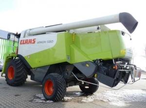 Комбайн зерноуборочный Claas Lexion 580 Terra Trac