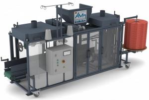 Оборудование для автоматической упаковки в сетку овощей: картофеля, лука, моркови, свеклы УАФ-1.С3