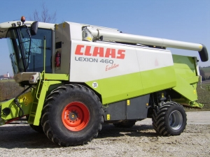 Комбайн зерноуборочный CLAAS Lexion 460 Evolution