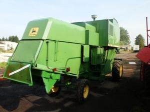 Комбайн зерноуборочный John Deere 945