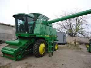 Комбайн зерноуборочный JOHN DEERE 9600