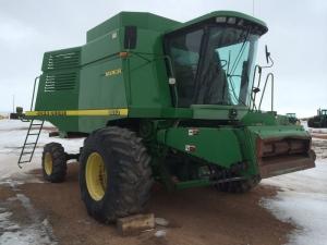 Комбайн зерноуборочный JOHN DEERE 9610