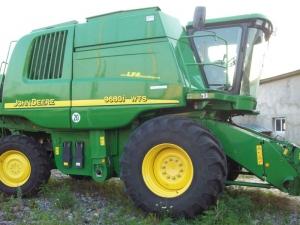 Комбайн зерноуборочный John Deere WTS 9680і