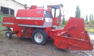 Комбайн зерноуборочный MASSEY FERGUSON 506