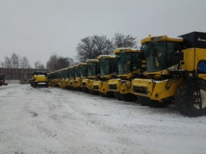Комбайн зерноуборочный New Holland CX 8000