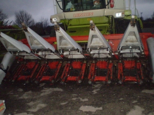 Жатка кукурузная OROS 6211 SA