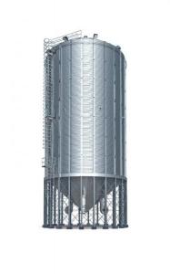 фото Силос вентилируемый унифицированный с конусным днищем типа СМВУ