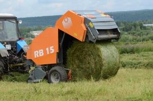 Пресс-подборщик рулонный  RB15