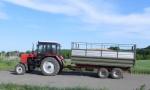 Самосвальный тракторный полуприцеп ТСП-10т. Фирма-производитель: Завод Кобзаренка