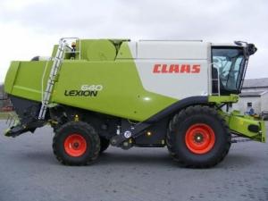 Комбайн CLAAS Lexion 640