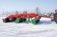 Дисколаповый почвообрабатывающий агрегат