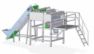 фото АВДБ-10, 10-канальный автоматический весовой дозатор для круглого продукта